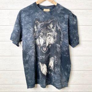 Wolf Tie Dye T-shirt The Mountain Breakthrough